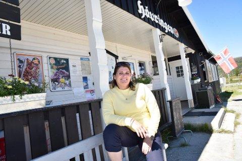 Tone Sangro skal selge butikken og kafeen på Høvringen.