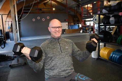 FLYTTER: Anders Bjerke skal flytte, og håper noen vil drive X-Fit Innlandet videre.