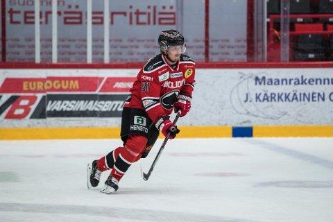 Teemu Vuorisalo er back fra finsk eliteserie. Nå kommer han til Lillehammer