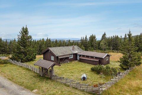 SETERPREG: Siden like etter krigen har eiendommen med over tre mål tomt vært i familiens eie. Nå velger tredje generasjon å selge.