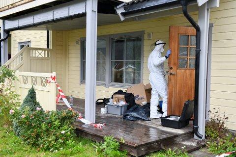 Voldshendelsen skjedde i en leilighet i Kvam i Nord-Fron tirsdag morgen.