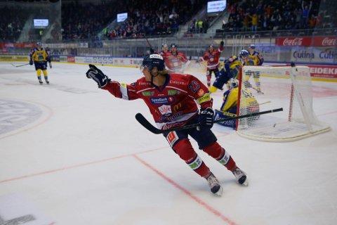 Thor Jørgen Torp Friestad kunne juble for scoring i Eidsiva Arena