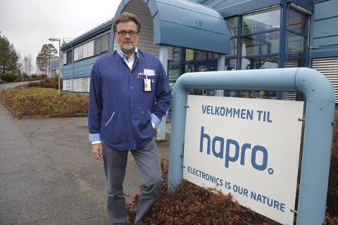 LEDER: Administrerende direktør i Hapro, Erik Lundbekk er på inntektstoppen blant lederne på Hadeland.