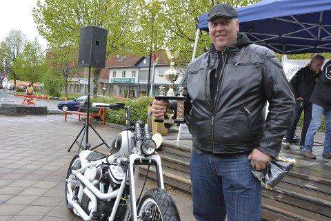Beste amerikaner ble delt ut til Lars Guldbrandsen fra Frogn med en Harley Davidson