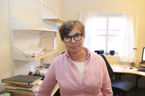 BLANT SPØRSMÅLSSTILLERNE: Anne Marte Skari, varaordfører, var blant politikerne i Gran som hadde ordet under behandlingen av HE-fusjonen i Grans kommunestyre forrige uke. ARKIVFOTO