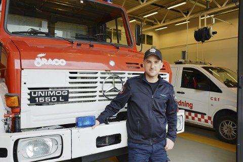 FORTSATT FORBUD: Brannsjef Sturla Bråten understreker at det fortsatt er forbudt å gjøre opp ild.