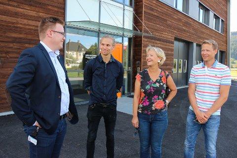 Even Aleksander Hagen, Paul Andre Lindseth, Randi Eek Thorsen og Harald Tyrdal