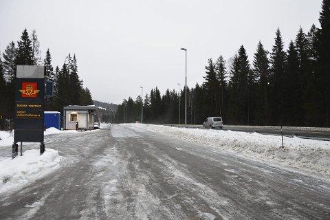 NY KONTROLLSTASJON: Statens Vegvesen bygger ut og anlegger ny kontrollstasjon på Varpet.
