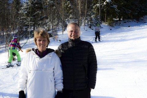 Inger og Dag Berge: Frivillig innsats i mange år på Idrettsskolen på Grua og i slalombakken