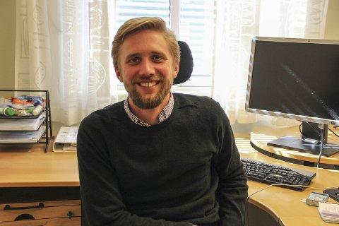 FORNØYD: Lasse Storrvik Lehre (H). Arkivfoto
