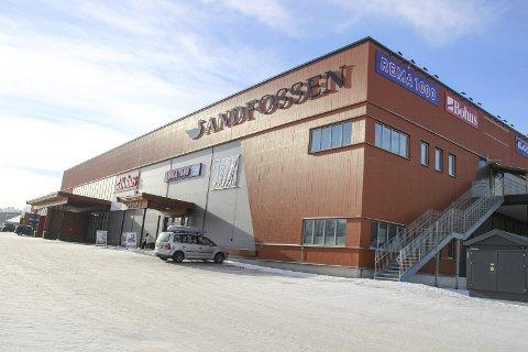 UTVIKLES VIDERE?: Eierne av Andfossen vil ha større plass til detaljvarehandel, samt mulighet til å bygge leiligheter. I dag, onsdag, skal saken opp i Grans planutvalg. ARKIV