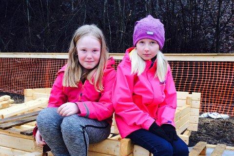 Tuva Bilden og Mathilde Gjefsen