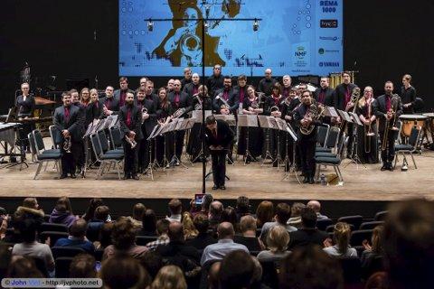 HØSTKONSERT: Jaren Hornmusikkforening spiller utenomjordisk konsert i kultursalen søndag. Foto: John Vint