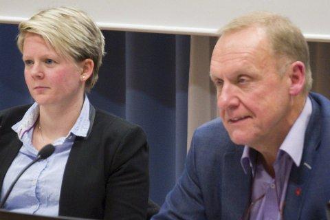 – EN PERSONALSAK: Varaordfører Trine Lise Olimb og ordfører Lars Magnussen (Ap9 overlater til rådmannen å håndtere Jors-saken.