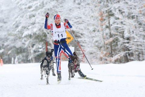 51 MEDALJER: Yngve Hoel har tatt tre medaljer i VM. FOTO: MARIE PATENT