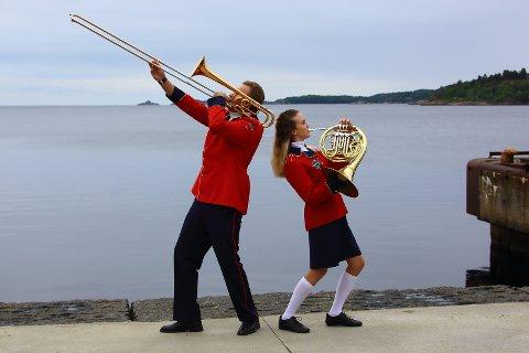 To hovedkorpsmusikanter