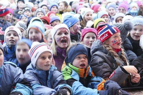 FOLKSOMT: Under ski-NM i 2017.