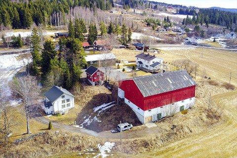 SOLGT: Morka gård i Nordre Oppdalen.