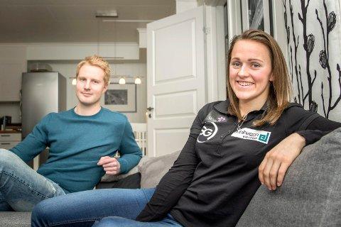 Mer hjemme: Barbro Kvåle håper på mindre reising og mer ro hjemme i Sande sammen med sin kommende ektemann Stian Trømborg når hun blir en del av Team Veidekke Oslofjord neste sesong.