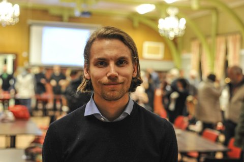 SUSPENDERT: Paul André Lindseth er suspendert fra Arbeiderpartiet. På fritiden er han også fotballdommer.