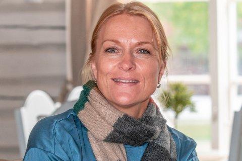 SKIFTER JOBB: Kristin Gamme Helgaker går fra Hadeland Glassverk til Kistefos-Museet.