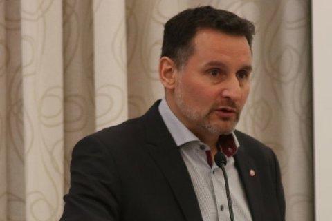 NYVALGT: Nils Erik Mossing i Lunner Ap er valgt inn i styret i Akershus Arbeiderparti.