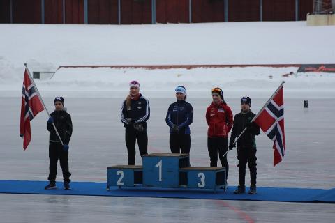 BRONSE: Guro Ruden Brørby fikk med seg to fine bronsemedaljer. Foto: Privat