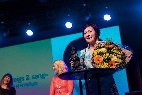 I fjor: Malmfrid Hovsveen Hallum fikk Ibsenprisen 2018 for forestillingen «Solveigs 2. sang».