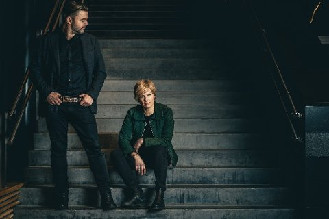 TRUDY OG DAVE: Eller Johanna DEmker og Alf Bretteville Jensen.