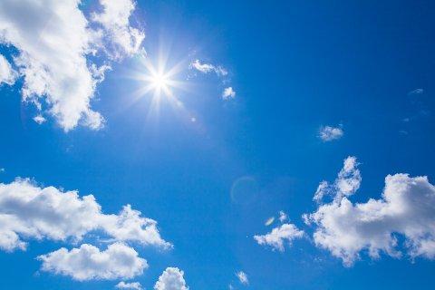SOL: Sommervær og sommervarmt i helga på Hadeland.