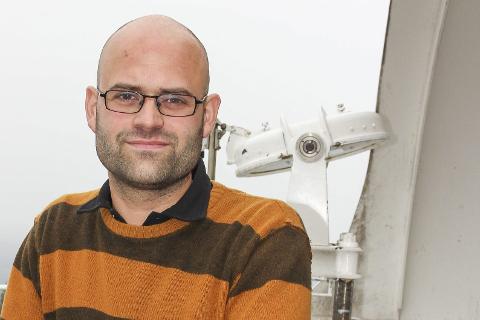 ARRANGEMENT: Vegarfd Lundby Rekaa inviterer til et eget arrangement på Solobservatoriet, i forbindelse med måneformørkelsen fredag kveld.