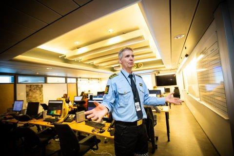 Christian Berge, leder for etterforskningsavsnittet i Øst politidistrikt.