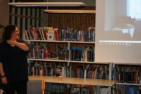 Pia Pedersen informerte om noen av inspirasjonskildene til serien Skjebnestier
