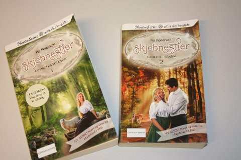 Pia Pedersen presenterte sin debut som forfatter. Serien med navnet Skjebnestier