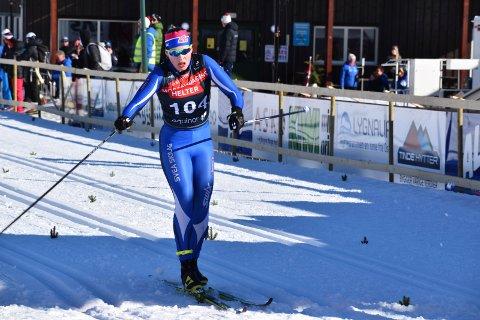 9. PLASS: Anna Heggen avsluttet sesongen med 9. plass i norgescupfinalen på Lygna søndag.