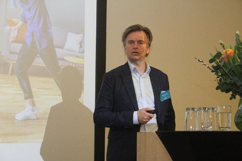 IKKE i SKYGGEN: Banksjef Magnar Øyhovden i Sbanken tilbyr for tiden en av landets gunstigste boliglånsrenter.