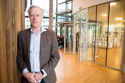 Milliardær og forretningsmann i Lørenskog Tom Hagen. Foto: Tom Gustavsen