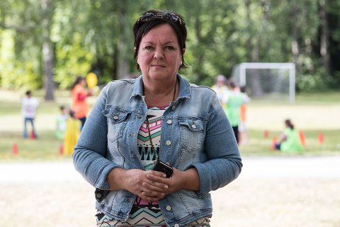 JOBBSØKER: Tove Brorson har jobbet lenge som leder ved Hvalsmoen transittmottak. I august reiste de siste beboerne, og Brorson må se seg om etter en ny jobb.