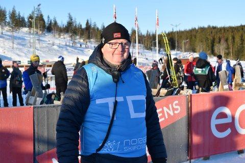 FORNØYD: TD-Gunnar Smiseth roser arrangørene på Lygna.
