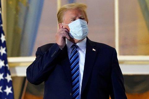 Koronasyk: President Donald Trump.