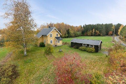 STOR INTERESSE: Mange har vist interesse for det gamle småbruket i Ullern.