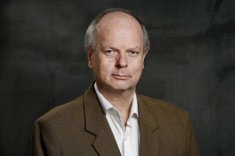 KOMMER: Forfatter Morten Jentoft.