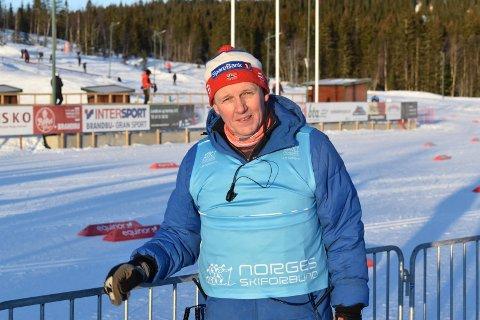 OVERSKUDD: Terje Nilsen i Lygna skisenter roser alle som bidrar i forbindelse med arrangementene på Lygna.
