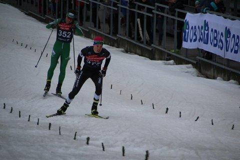 Simen Gammelmo fra Svea Skilag gikk inn til en sterk 5. plass på sprinten i Holmenkollen.