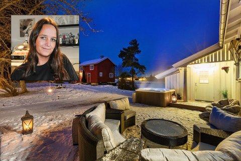 SELGER: Maria Bech selger småbruket i Tingestad.