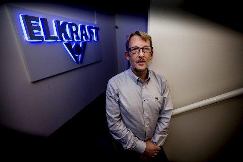 SJOKKERT: Marius Nerbye, Tom Hagens forretningspartner i Elkraft AS.