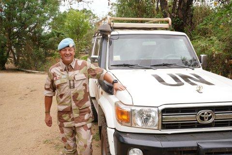 Fredsarbeider: Rune Meier fra Gran er for tiden i Sør-Sudan, som stabsoffiser i FN-styrken UNMISS.