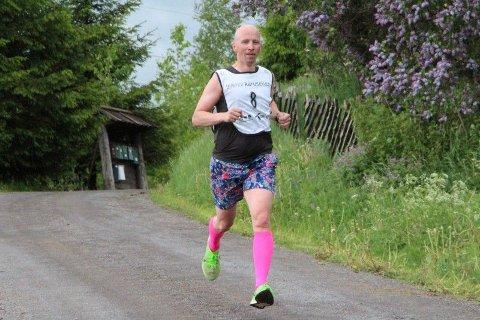 LETT Å SE: Kenneth Nordseth var den av deltakerne som var enklest å se på andre løp i Oppdalskarusellen