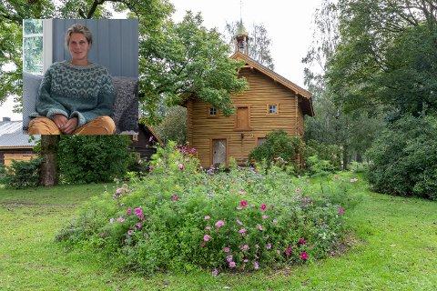 GAMMELT: Det gamle stabburet på Søndre Aslaksrud gård.