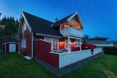 BUDKRIG: Denne boligen i Gruaenga ble solgt for drøyt fem millioner kroner etter en heftig budrunde torsdag.